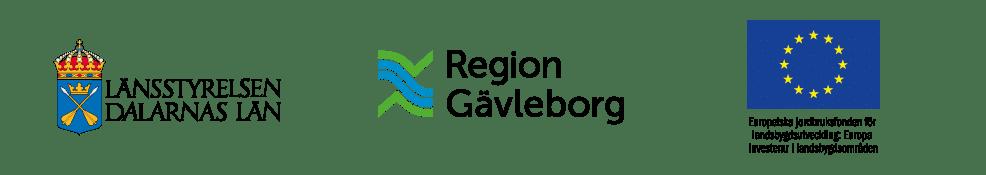 Logotyper - Länsstyrelsen Dalarna - Region Gävleborg - Europeiska jordbruksfonden