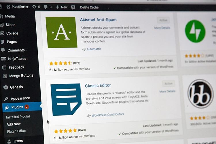 Wordpress-häng med Coompanion