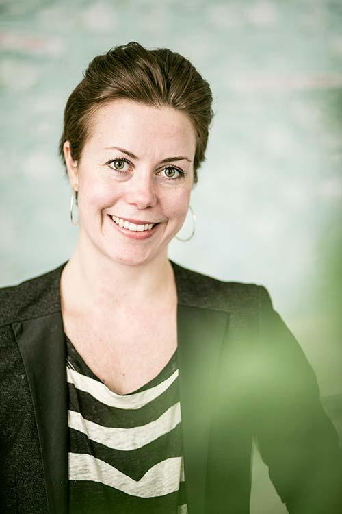 Sara Isaksson, projektledare ASF Akademin