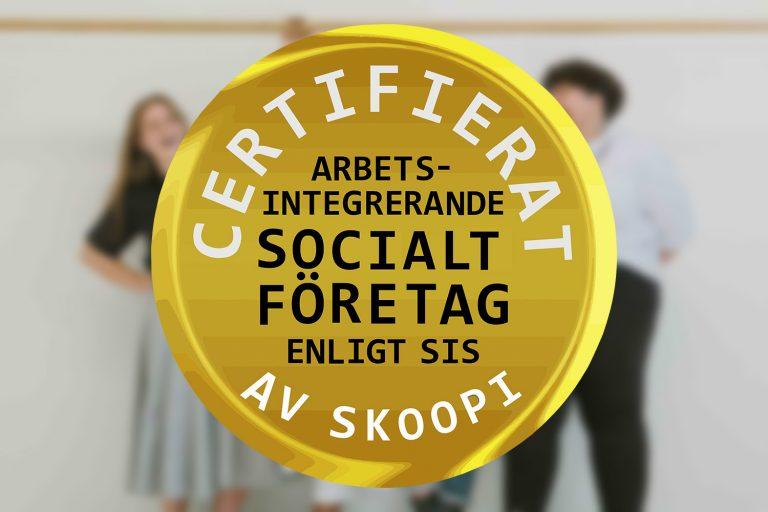certifiera ert sociala företag