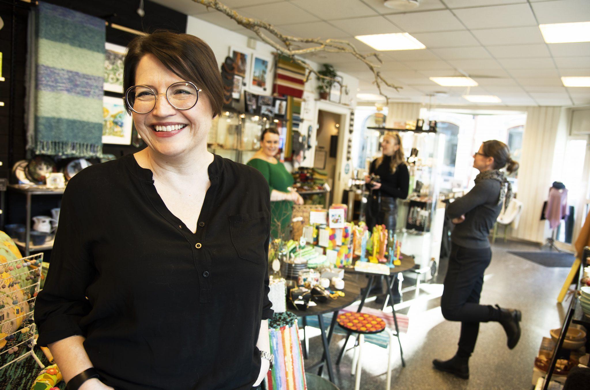 Tio kreativa företag startade butik tillsammans