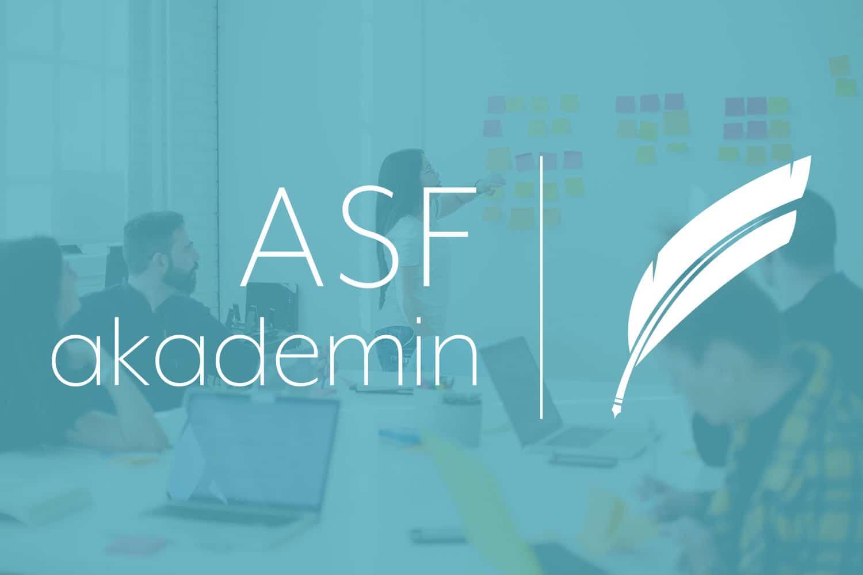 ASF Akademins utbildningsstarter under våren 2021