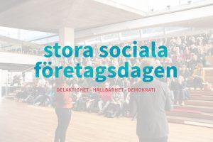 stora sociala företagsdagen 2021