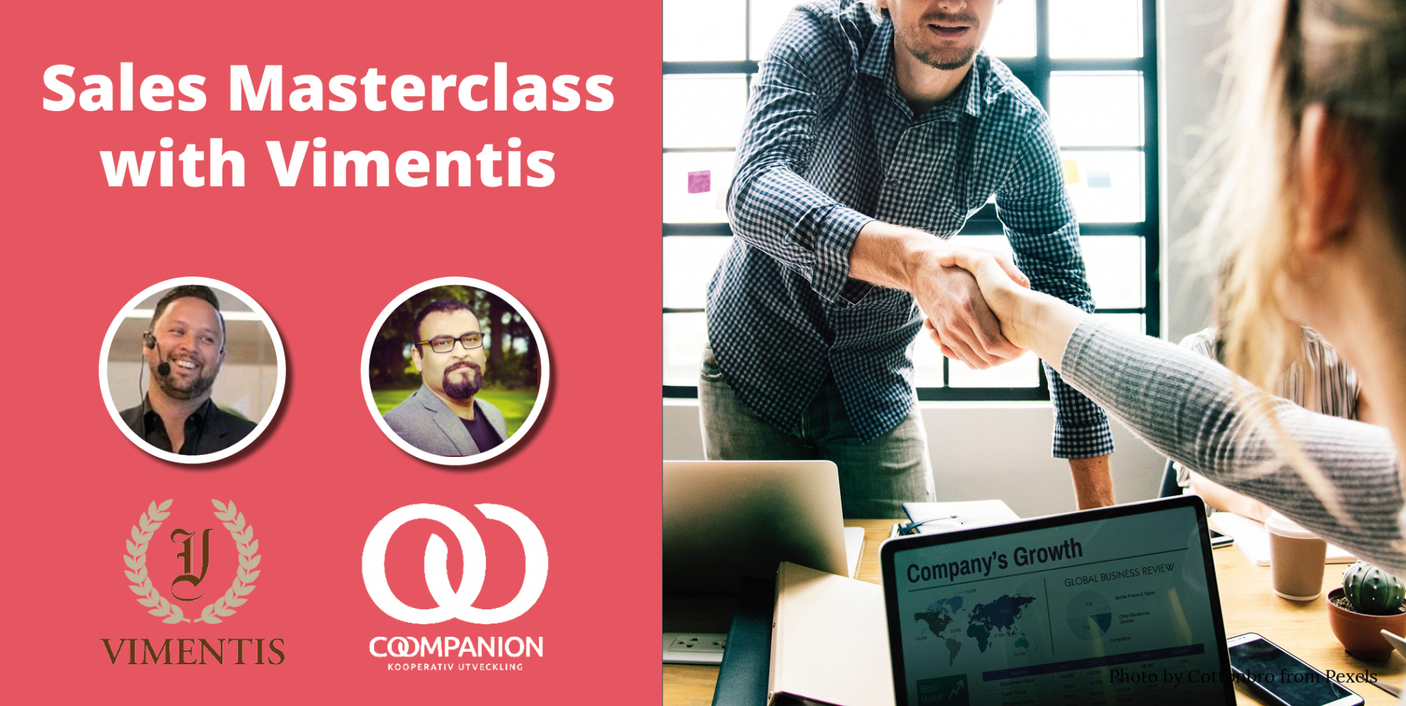 Sales Masterclass with Vimentis