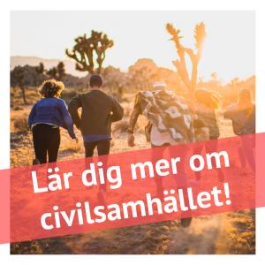 Lär dig mer om civilsamhället